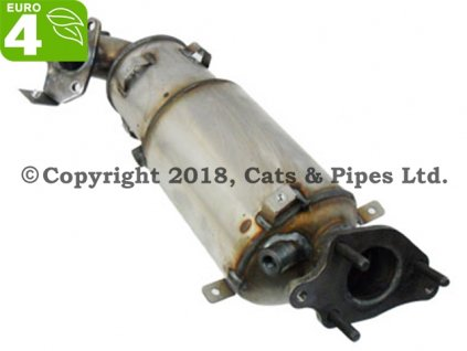 DPF filter Honda Accord 2.2 CTDi 07/2008-12/2010 110 kW/N22B1