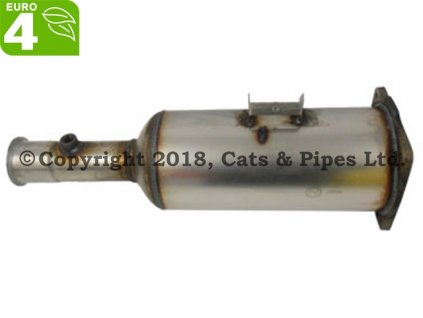 DPF filter Peugeot Expert 2.0 HDI 01/2007-12/2010 89kW/RHK (DW10UTED4)