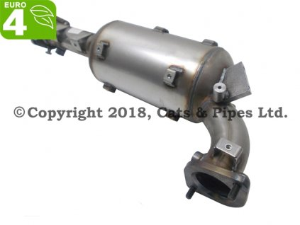 DPF filter Nissan Navara 2.5 DCI 06/2005-12/2010 128kW/YD25DDTI