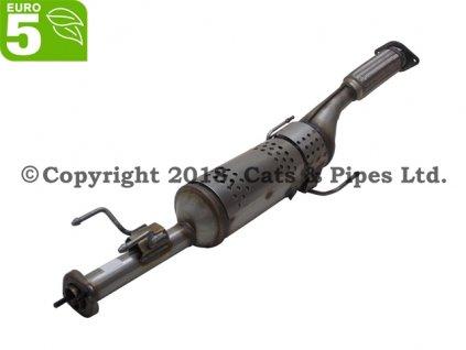 DPF filter Nissan Evalia 1.5 dCi 01/2011-12/2015 63 kW, 66 kW/K9K