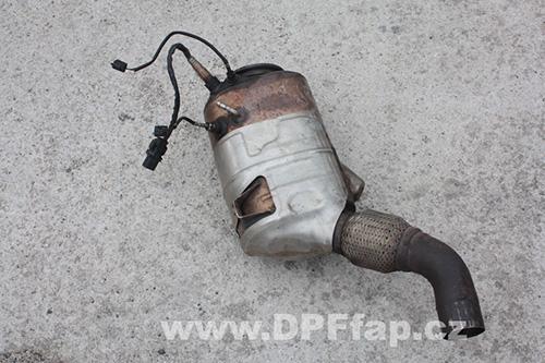 Odstranění DPF filtru