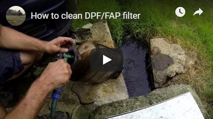 Čistění DPF filtru VIDEO