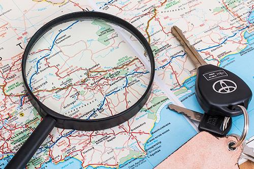 GPS sledování vozidel