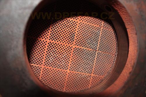 Odstranění filtru DPF