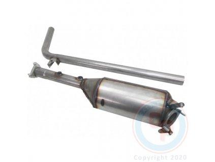 12590 dpf filter renault megane 1 9 dci 01 2006 01 2010 96 kw f9q816
