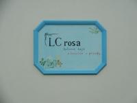 Malovaný štít domu - LC Rosa