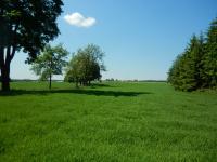 Pohled do krajiny v blízkosti obce