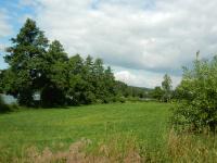Rybník Dolní Tis v údolí směrem k Bobrůvce