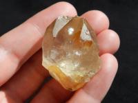Dvojkrystal českého citrínu z lokality Kněževes (Vysočina) - Mistrovský krystal - Tantrická dvojice