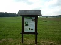 Informační tabule - výletní naučná stezka okolím Bobrové