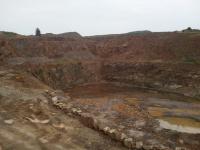 Kamenolom - Horní Bory - těžba kamene na stavby