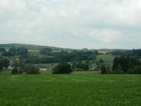 Pohled na chráněnou lokalitu a naleziště - Ouperek u Bobrůvky