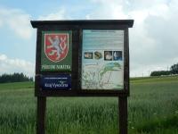 Informační tabule - přírodní památka - Ouperek