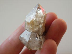 Přírodní surový krystal křišťálu, neopracovaný, Vysočina, Morava, znamení