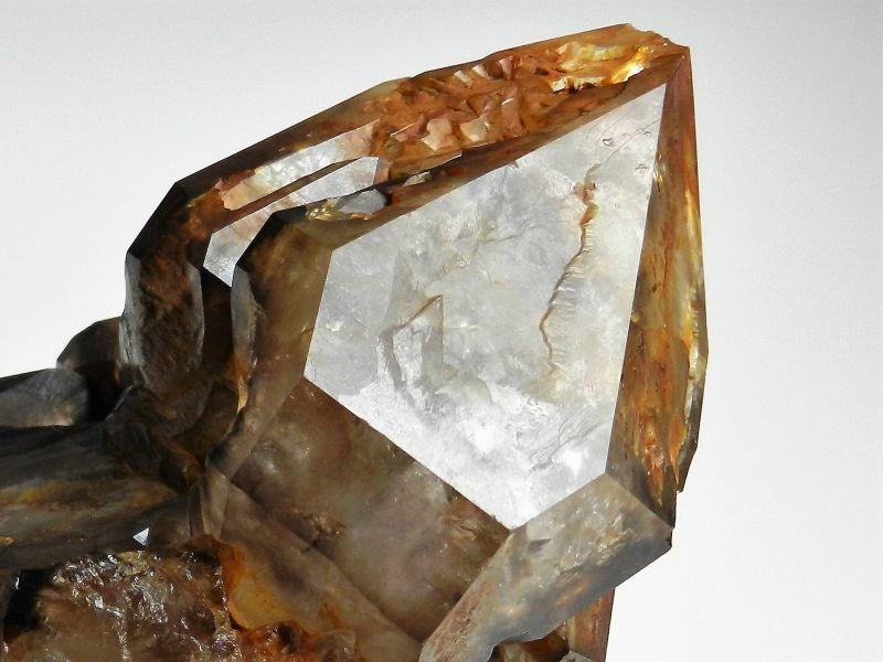 Krystal bohyně Isis - Mistrovská záhněda z Vysočiny