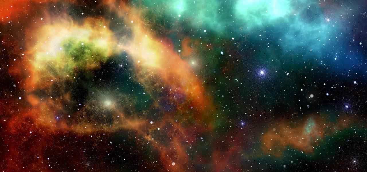 Vesmír, galaxie, světy kamenů a krystalů