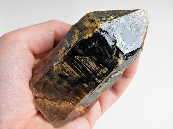 morion krystal drahokamovy cisty unikatni vysocina velky cesky kamen vzorek 1