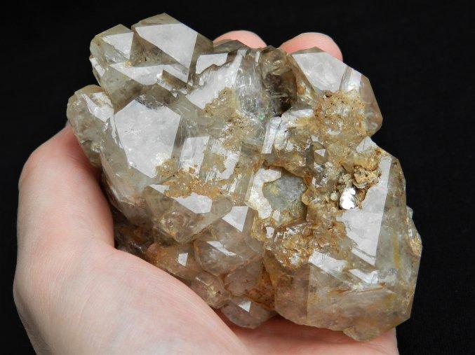 zahneda krystal elestial sbirkovy unikatni sberatelsky kamen mineral nerost pravy cesky vysocina hypoparalelni kostrovita dar andelu kourova obrazky 2
