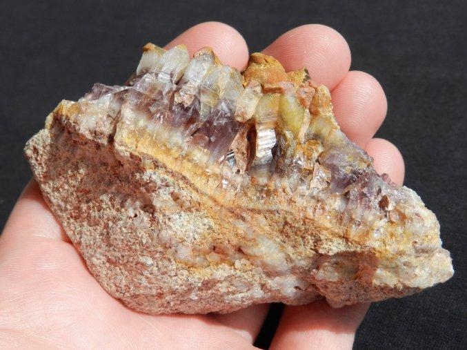 ametyst kremen kremenec hematit oxid zeleza cesky prirodni pravy kamen obrazky 1