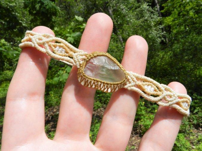 naramek kristal pravy cesky drahy kamen macrame prodej 5