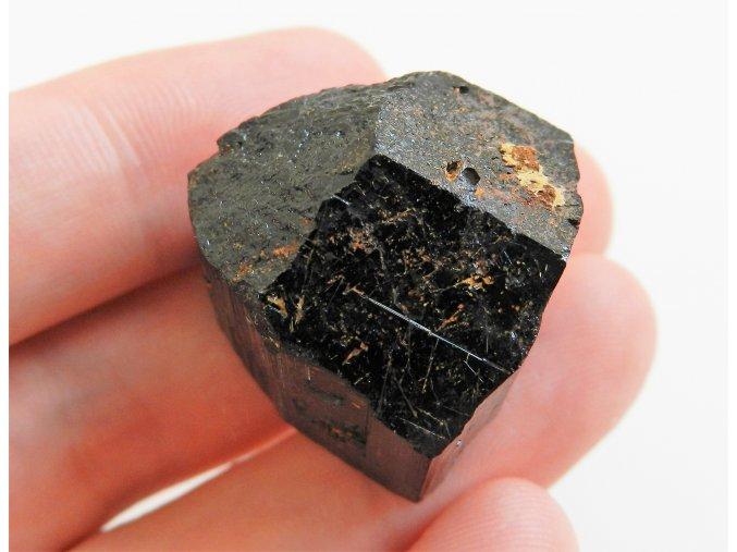 cerny skoryl turmalin cr vzacny velky ukonceny sberatelsky kamen obrazky 1
