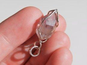 ametystovy privesek ceskym pravym ametystem ceska mez vysocina stribre zasazeny kamen krystal obrazky 1