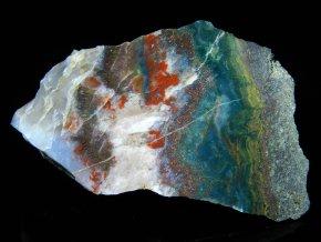 cesky achat pestrobarevný kousek kamen rozriznuty vylesteny doubravice obrazky 1