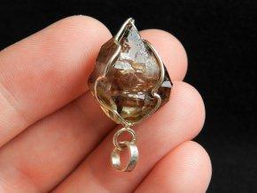 zahneda krystal stribrny privesek cesky kamen elestial obrazky 1
