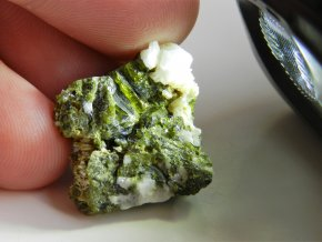 epidot albit sobotin jeseniky zeleny mineral prodej obrazky 1