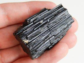 cerny turmalin skoryl dlouhy leskly cesky mineral kamen prodej obrazek 1