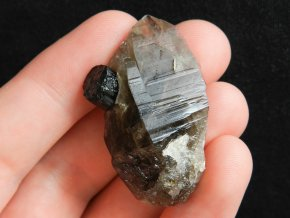 zahneda cerny turmalin skoryl prirodni kamen vysocina obrazky 1
