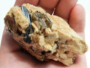 albit muskovit cerny turmalin kamen vysocina prirodni obrazky 1