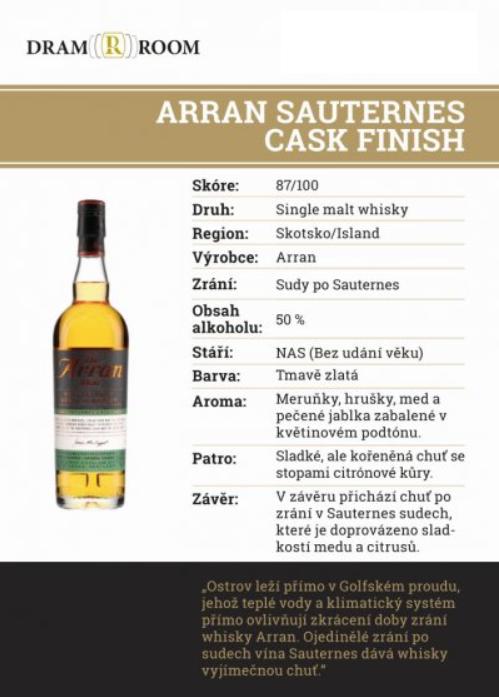 Arran - Sauternes Cask