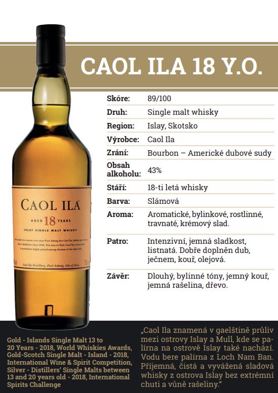 Caol Ila 18 YO