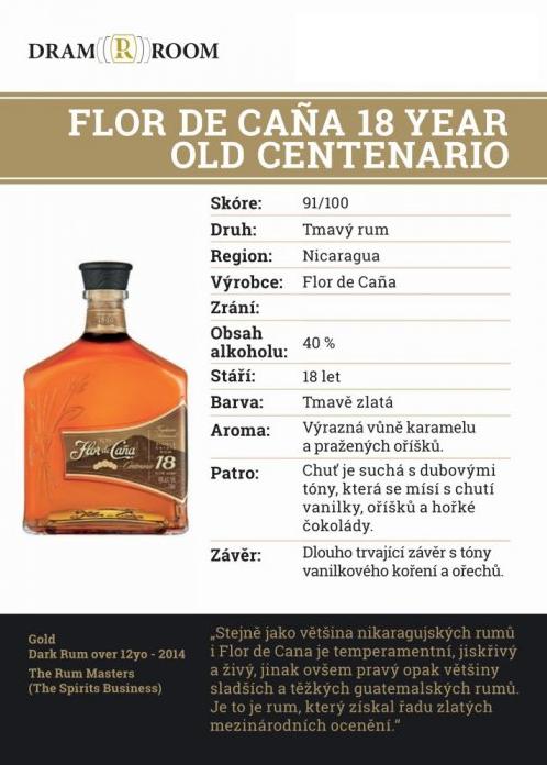 Flor de Cana 18 YO