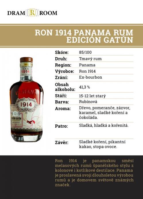 Ron 1914 GATÚN
