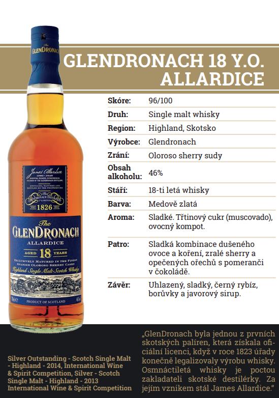 Glendronach 18 YO