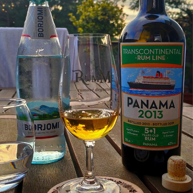 Recenze: Transcontinental Rum Line Panama 2013, 43% a Venezuela 2006, 60,9%