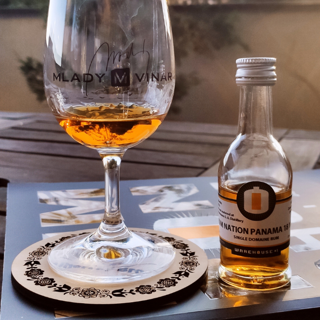 Recenze: Rum Nation Panama 18 YO, 40%