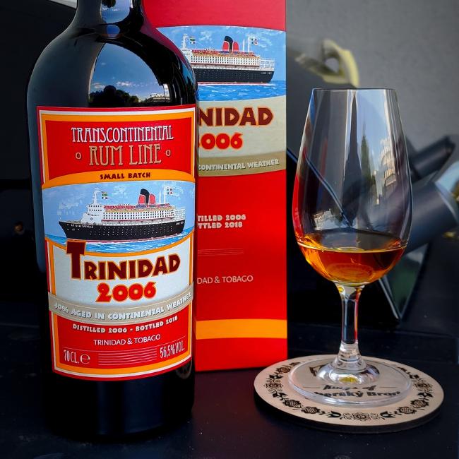 Recenze: Transcontinental Rum Line Trinidad 2006, 56,5%