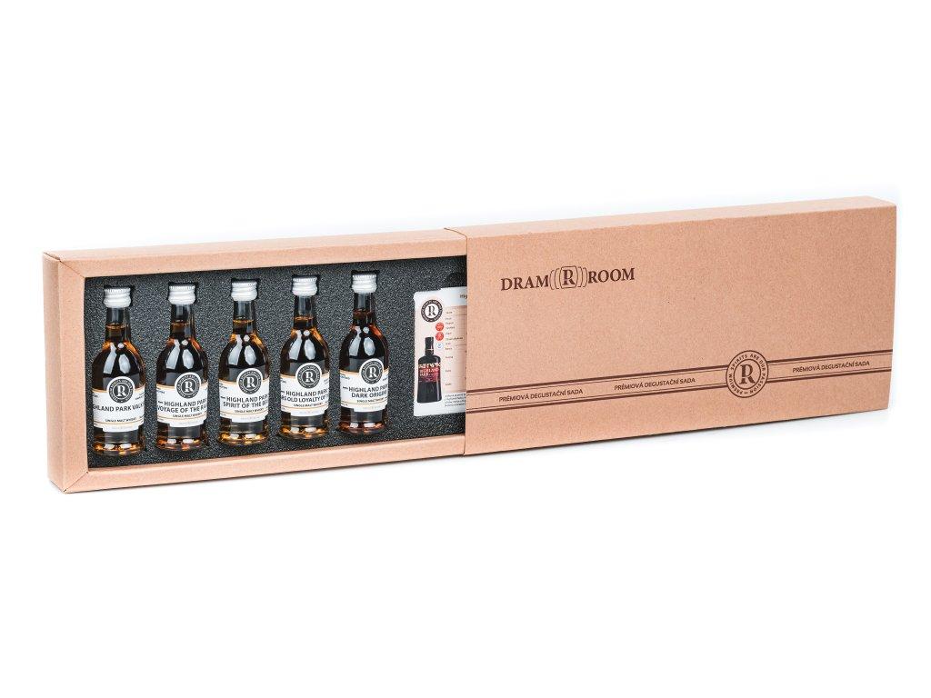 Kartonova degustační kazeta Whisky sada - Selection of Cask Strengths