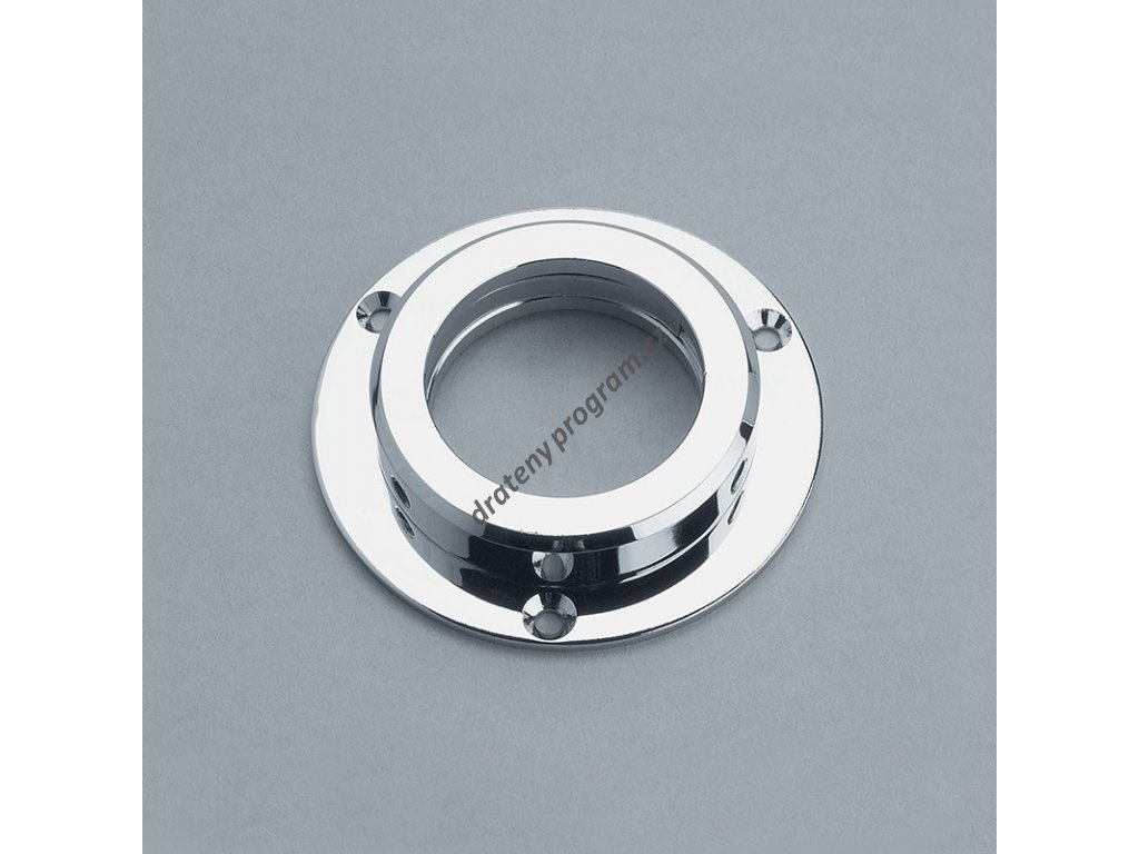 příruba - průměr 45 mm, chrom