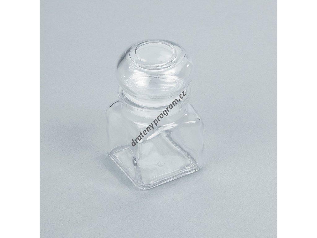 Kořenka skleněná malá - sada 6 ks - 120 ml