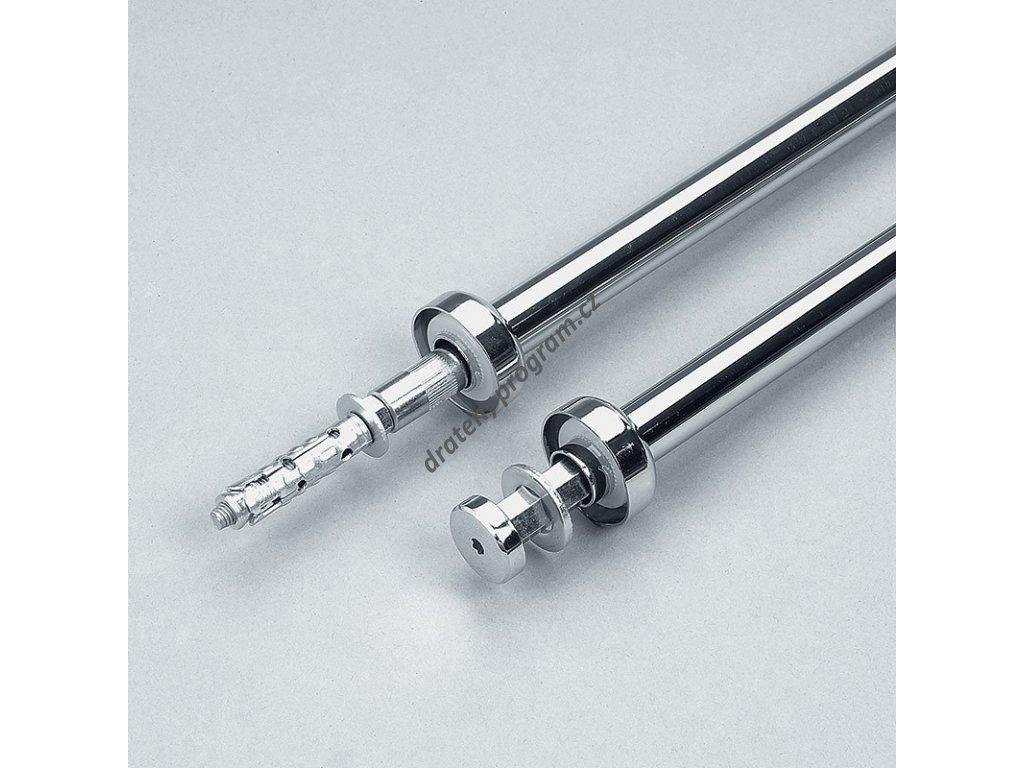 závěsná tyč průměr 25x600 - chrom