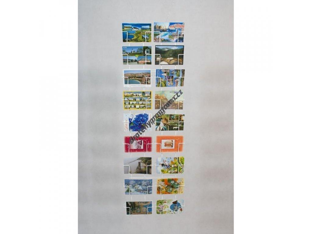 Nástěnný zásobník na pohlednice - SN18