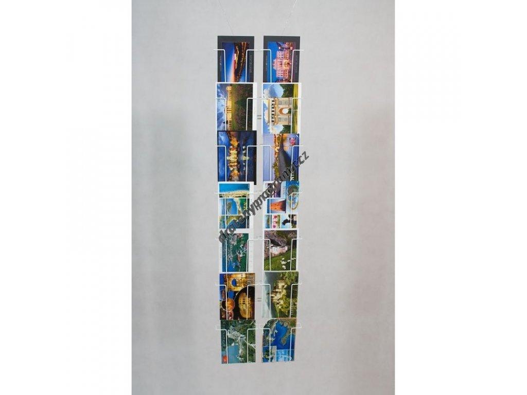 Nástěnný zásobník na pohlednice - SN14
