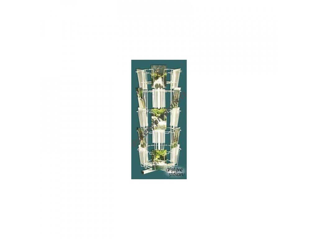 Malý otočný stojan na 30ks pohlednic - SO30