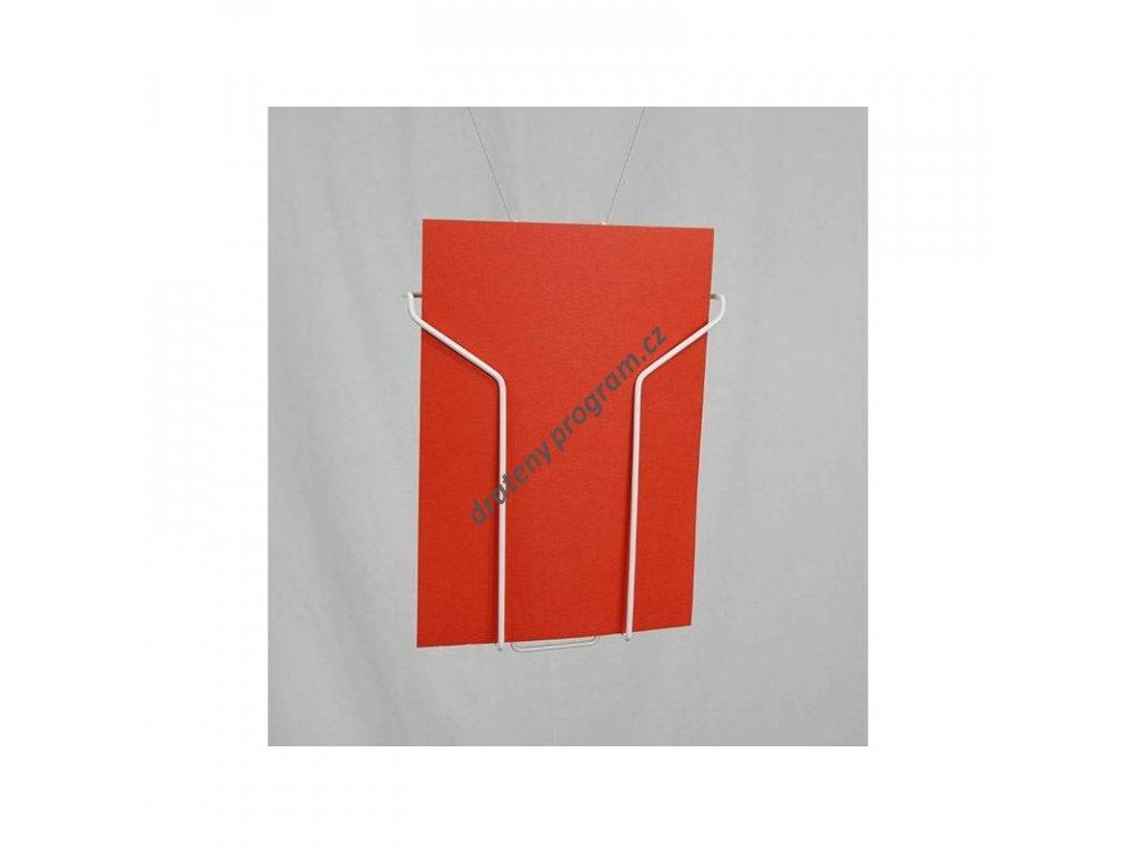 Závěsná kapsa A4 - tvar Y