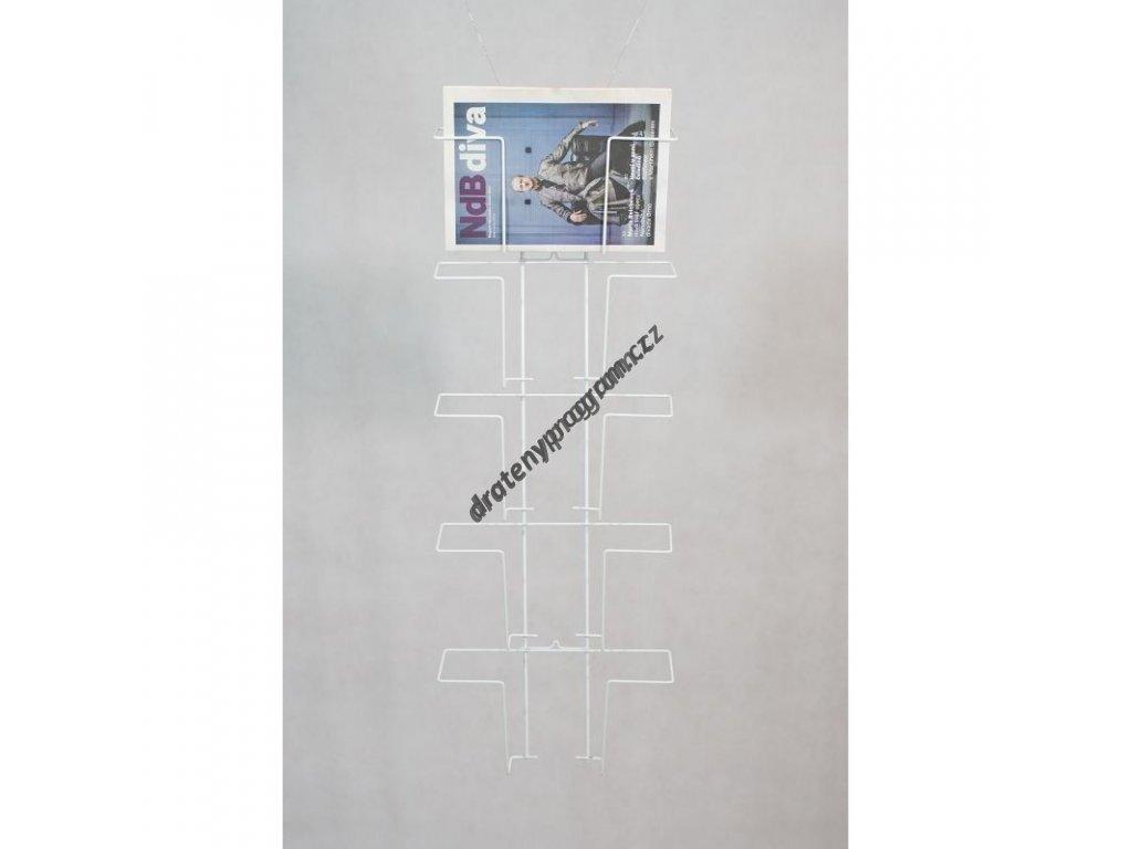 Držák 5 x A4 vodorovně - DNN5