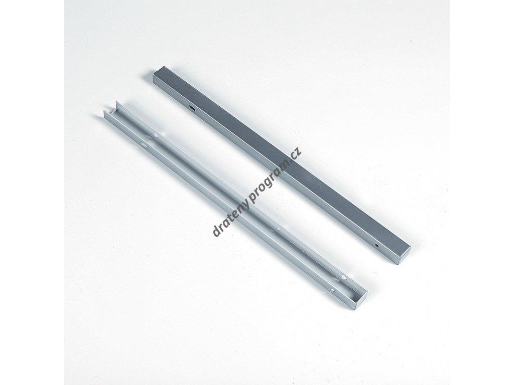 Kryt výsuvu WIRELI 3102338004 - L/P, stříbrný